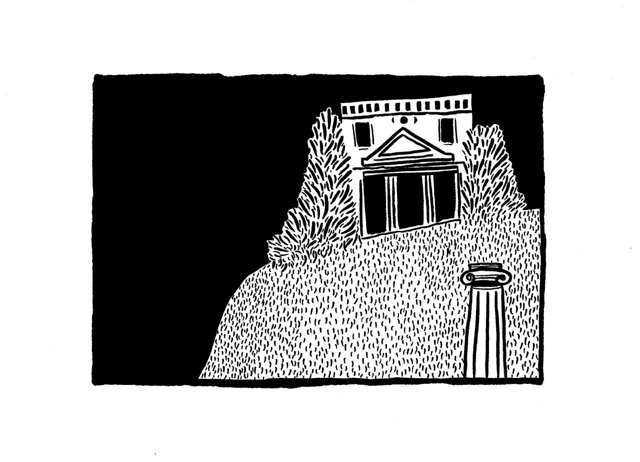 Parpinades et colonnades