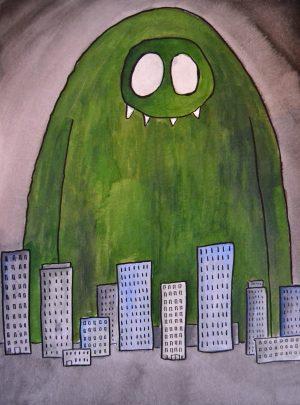 Monstre vert