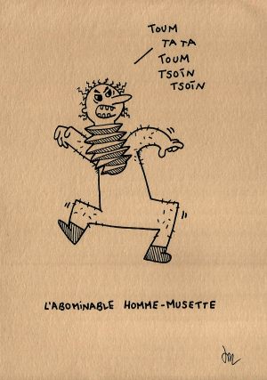 L'abominable homme-musette