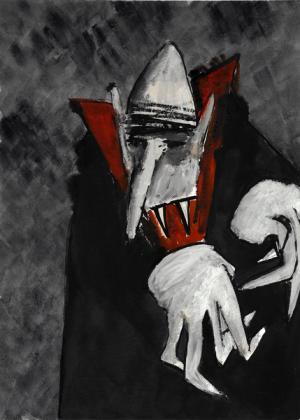 Carte postale – Vampire