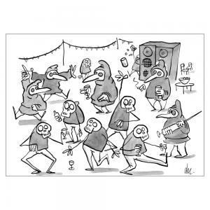 Danse macabre feat. Médecins de peste