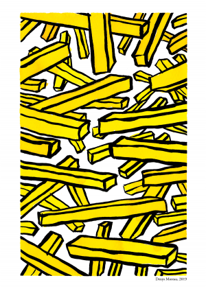 Tirage A4 – Frites