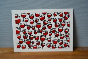 Grands verres de pinard